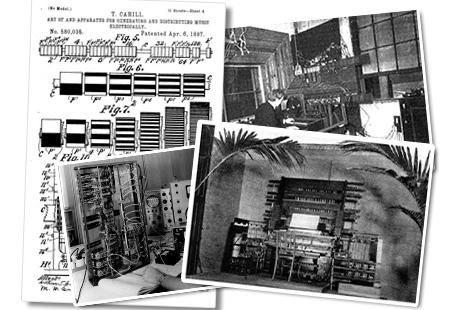 Telharmonium as one example of early electronic instruments